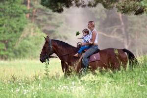 zirgu izjādes bērniem